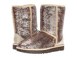 Classic Short Sparkles Champagne UGG Boots d1Ihkw