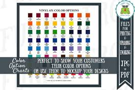 Oracal 651 Color Chart Oracal 651 Vinyl Color Options Chart