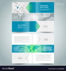 Brochure Template Design Free Booklet Template Design Brochure Arrow Line