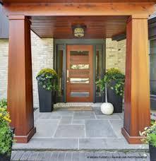 front door. Entrance With Contemporary Fir Front Door