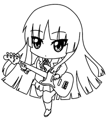 30 Chibi Coloring Pages Coloringstar