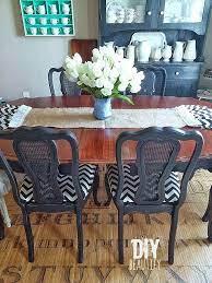 refinishing a dining table diy
