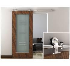 interior barn door hardware. Modern Stainless Steel Interior Sliding Barn Door Hardware