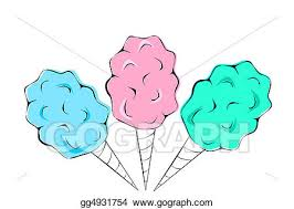 pink and blue cotton candy clipart. Modren Cotton Cotton Candy For Pink And Blue Clipart