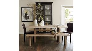 crate and barrel dining table for the best of room on dakota at famous design 10
