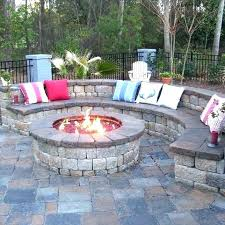 concrete patio designs with fire pit. Concrete Patio Ideas Backyard Designs Design Stamped . With Fire Pit