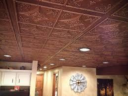 antique bronze faux tin ceiling tiles
