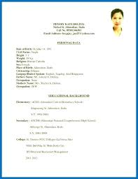 ojt resume. Resume Example With Ojt As Well As Skills In Resume For Sample