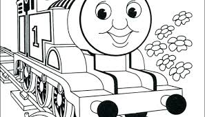 Coloring Pages Thomas The Train Color Page Train Coloring Pages Free