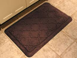 cozy rubber kitchen mats for exciting kitchen floor decor ideas