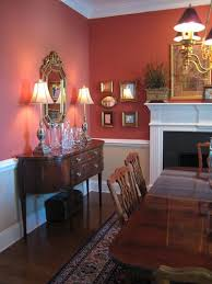 love this color wallpaper below chair rail more