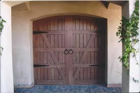 garage barn doorsMediterranean Garage Doors  Garage doors Custom wood and Doors