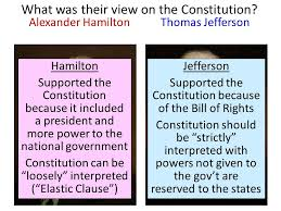 hamilton vs jefferson essay hamilton vs jefferson essay hamilton vs jefferson essayessential question what are the political views of the which government hamilton
