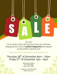 Sales Flyer Templates Word Christmas Template Free Sale