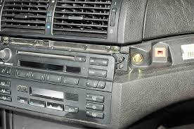 hack your car 11 steps pictures on the bmw 3 series you just pry off the fake wood panels on the dash a butter knife first the passenger side panel then the middle panel