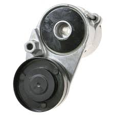 serpentine belt tensioner. serpentine belt tensioner w/ pulley new for audi a4 a6 s4 vw passat v6 n
