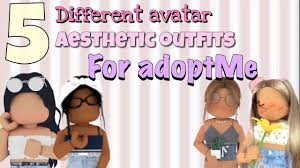 See more ideas about roblox, roblox pictures, avatar. 5 Aesthetic Avatar Outfits In Adopt Me Roblox Adoptme Youtube