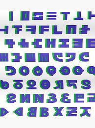 Splatoon 2 Brand Chart Inkling Language Alphabet Splatoon Splatoon 2 Color Alphabet Poster