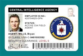 Templates Card Id Cia Badge 1 Template - Station