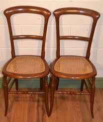 edwardian bedroom chairs. pair edwardian mahogany cane seat bedroom chairs c1900