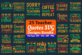 You will receive the following files. 699 Teacher Svg Designs Graphics