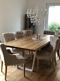 Tisch Aus Holz Für 8 Personen Esstisch Gustav In 2019 Esstisch
