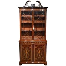 Stunning Exhibition Quality Bookcase by Edwards and Roberts of London For  Sale at 1stdibs