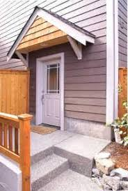 how to build a front doorHow to Build a Wood Awning Over a Door