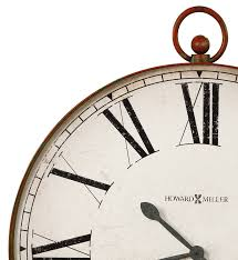 wall clock 625647 distressed antique white background aged black number 625647 large 32 inch pocket watch