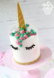 Unicorn Cake Kit Amycakes Toppers
