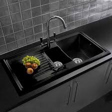 Image Cast Iron Victorian Plumbing Reginox Traditional Black Ceramic 15 Kitchen Sink Brooklyn Mixer Tap