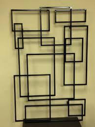 tubular steel wall art 36x76