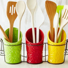 Kitchen Utensil Holder Ienjoyware Llc Kitchen Ceramic Utensil Holder Reviews Wayfair