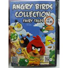 Angry Birds Collection Cartoon/Fairy Tales DVD (1 Disc) 9 Stories + Movie  English with subtitles