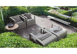 frame paola lenti armchair outdoor