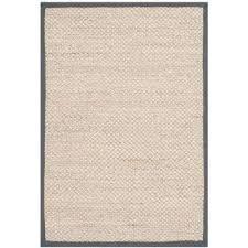natural fiber marble dark grey 2 ft x 3 ft area rug