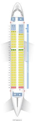 Airbus A319 Seating Chart Seatguru Seat Map Spirit Seatguru