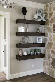What To Put On Floating Shelves Best DIY Floating Shelves For My Living Room I'll Just Do It Myself