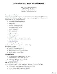 Retail Clerk Job Description Resume Cashier Customer Service Sample