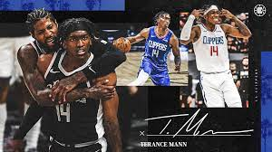 LA Clippers Sign Terance Mann To Contract Extension