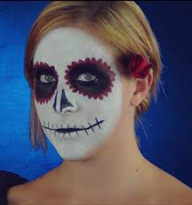 creating a day of the dead costume look
