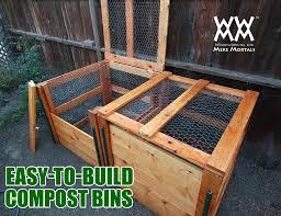 composter diy compost bin designs barrel tumbler
