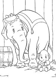 Dumbo Coloring Pages Free For Kids To Color Dumbo Coloring Pages