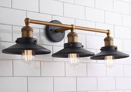 overhead bathroom light fixtures. Industrial Chic To Rustic Farmhouse Bath Lights Overhead Bathroom Light Fixtures