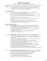 Coordinator Skills Resume Resume Online Builder