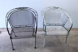 painting wrought iron furniture. Before After Chair Teaser Painting Wrought Iron Furniture N