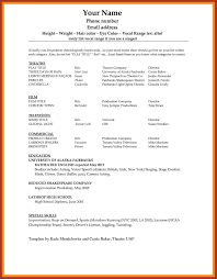 Sample Resume Word Doc Job Proposal Example