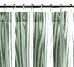pottery barn red ticking stripe shower curtain enchanting black marvelous curtains farmhouse tic