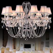 european style crystal chandeliers modern led chandeliers for living room kitchen res de sala de cristal wedding