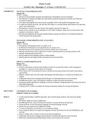 Consumer Finance Resume Samples Velvet Jobs
